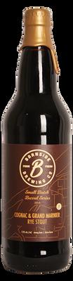 Barnside Cognac & Grand Marnier Rye Stout 650ml