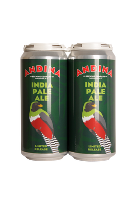 Andina Brewing Piquete IPA 4 Pack 473ml
