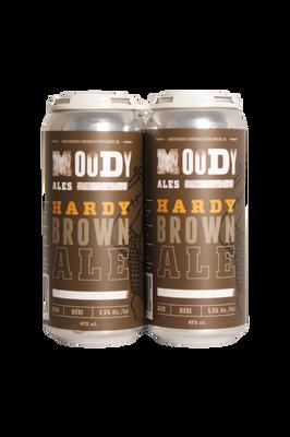 Moody Ales Hardy Brown Ale 4 Pack 473ml
