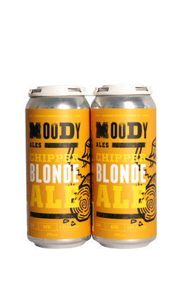 Moody Ales Chipper Blonde Ale 4 Pack 473ml