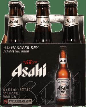 Asahi Super Dry 6 Pack 355ml