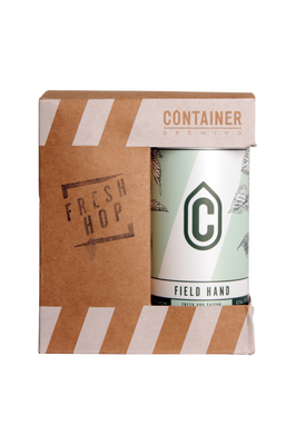 Container Brewing Field Hand Fresh Hop Saison 4 Pack 473ml