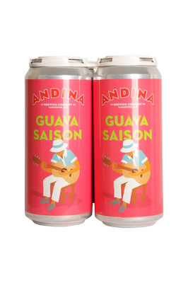 Andina Brewing Guava Saison 4 Pack 473ml