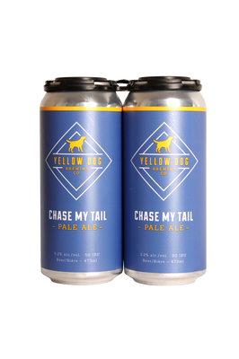 Yellow Dog Chase My Tail Pale Ale 4 Pack 473ml