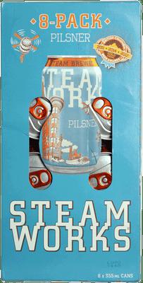 Steamworks Pilsner 8 Pack Cans 355ml
