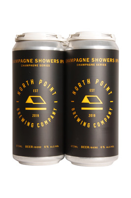 North Point Champagne Showers IPA 4 Pack 473ml