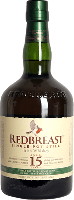 Redbreast 15 Year Old Single Pot Still 750ml