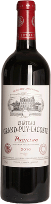 Chateau Grand Puy Lacoste 2016 Pauillac 750ml