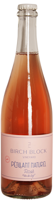 Birch Block 2020 PetNat Rose 750ml