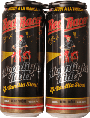Red Racer Moonlight Rider Vanilla Stout 4 Pack 500ml
