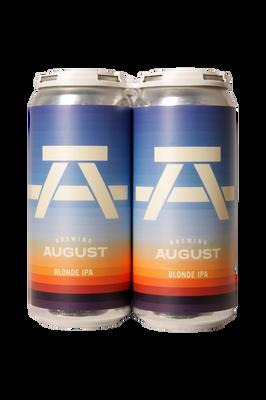 Brewing August Blonde IPA 4 Pack 473ml
