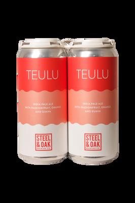 Steel & Oak Teulu IPA 4 Pack 473ml