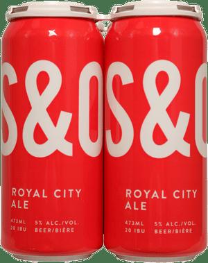 Steel & Oak Royal City Blonde Ale 4 Pack 473ml