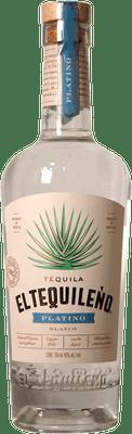 El Tequileno Platino Tequila 750ml