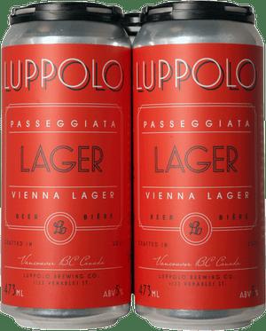 Luppolo Passegglata Vienna Lager 4 Pack 473ml