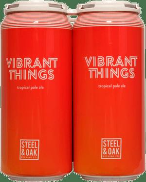 Steel & Oak Vibrant Things Tropical Pale Ale 4 Pack 473ml