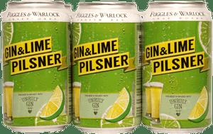 Fuggles & Warlock Gin & Lime Pilsner 6 Pack 355ml