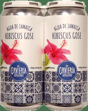 Cerveceria Astilleros Hibiscus Gose 4 Pack 473ml