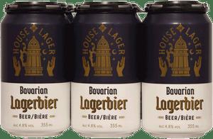 House of Lager Bavarian Lagerbier 6 Pack 355ml