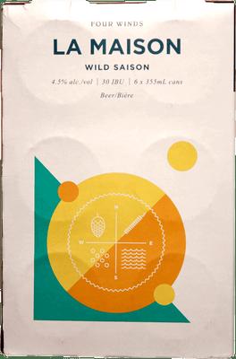 Four Winds La Maison Wild Saison 6 Pack 355ml