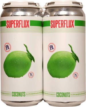 Superflux Coconuts IPA 4 Pack 473ml