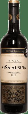 Riojanas 2013 Rioja Vina Albina Gran Reserva 750ml