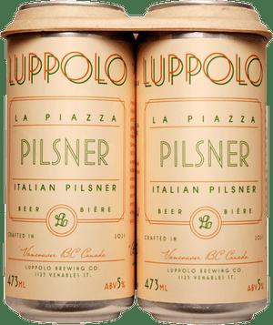 Luppolo La Piazza Italian Pilsner 4 Pack 473ml