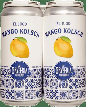 Cerveceria Astilleros Mango Kolsch 4 Pack 473ml