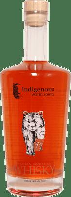 Indigenous World Spirits Canadian Single Malt Whiskey 750ml