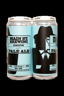 Main St. Kingpin Pale Ale 4 Pack 473ml