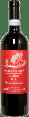 """Abrigo Giovanni 2018 Barbera d'Alba Superiore """"Rocche Dei Frisu"""" 750ml"""