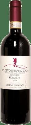 """Abrigo Giovanni 2019 Dolcetto di Diano d'Alba Superiore """"Garabei"""" 750ml"""