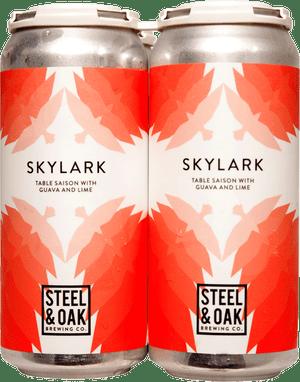Steel & Oak Skylark Table Saison w/ Guava and Lime 4 Pack 473ml