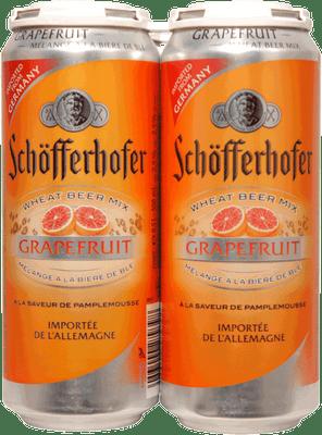 Schofferhofer Grapefruit Radler 4 Pack Cans 500ml