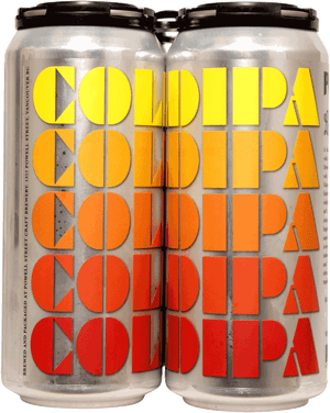 Powell & Luppolo Cold IPA 4 Pack 473ml