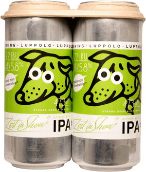 Luppolo Zest In Show Citrus Zest IPA 4 Pack 473ml
