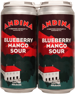 Andina Brewing Antojo Blueberry Mango Sour 4 Pack 473ml