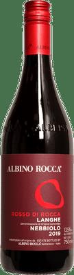 """Albino Rocca 2019 Langhe Nebbiolo """"Rosso di Rocca"""" 750ml"""