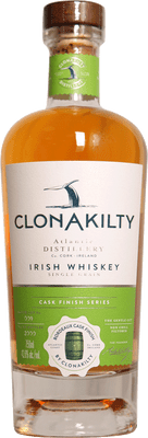 Clonakilty Distillery Bordeaux Cask Single Grain Irish Whiskey 750ml
