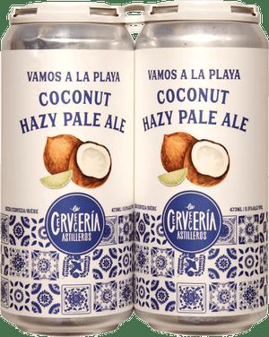 Cerveceria Astilleros Coconut Hazy Pale Ale 4 Pack 473ml
