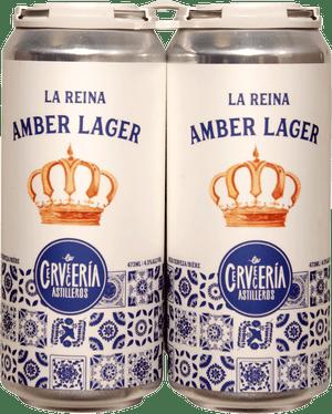 Cerveceria Astilleros Amber Lager 4 Pack 473ml