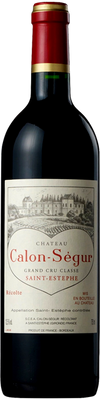 Chateau Calon Segur 1995 St. Estephe 750ml