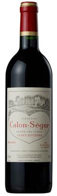 Chateau Calon Segur 1996 St. Estephe 750ml