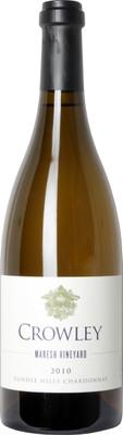 Crowley Vineyards 2010 Maresh Vineyard Chardonnay 750ml