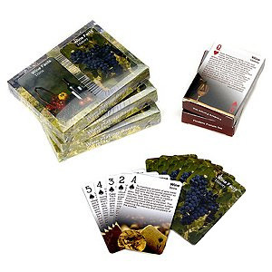 Double Deck Wine Playing Cards