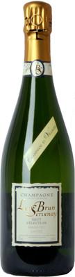 Champagne Le Brun Servenay Brut NV Blanc de Blancs 750ml