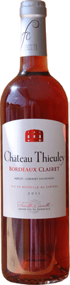 Chateau Thieuley 2013 Bordeaux Rose 750ml