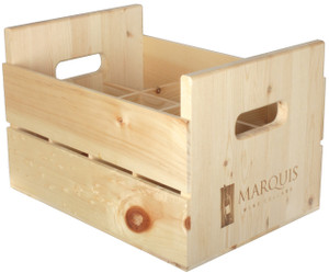 Pine Crate - 12 Bottle Woodpak