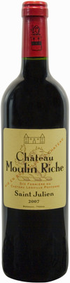 Château Moulin Riche 2010, St. Julien 750ml