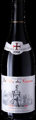 """Domaine le Clos des Cazaux 2012 Vacqueyras """"Cuvee des Templiers"""" 750ml"""